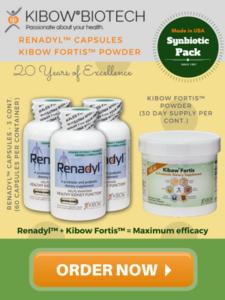 Renadyl Kibow Fortis Synbiotic Pack