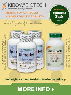 Renadyl + Kibow Fortis - Synbiotic Pack